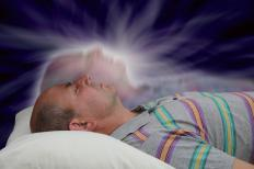 Astral projection is an unproven phenomenon in which a person's consciousness temporarily leaves his body.