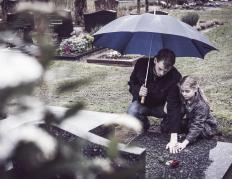 When the insured passes away, life insurance provides family members with a way to pay for burial expenses.