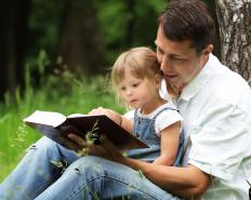 Family literacy involves parents taking an active role in their children's reading development.