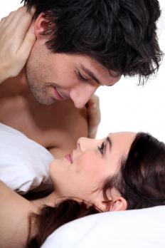 Non-verbal communications between couples, also known as love languages, may help to build intimacy.