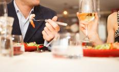 A restaurant manager is responsible for handling any food and drink complaints.