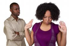 A controlling partner may become angry or defensive if you say you have a problem with the relationship.
