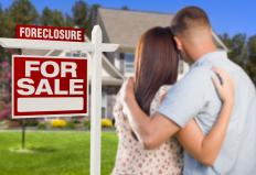 Mortgage market analysis may consider the amount of foreclosures in an area.