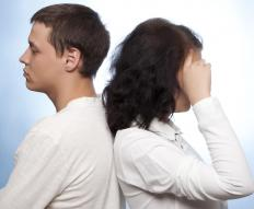 Passive-aggressive behavior may be a form of psychological manipulation during a conflict between two people.