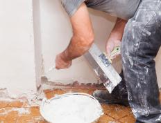 Plaster veneer is a method of finishing interior walls.