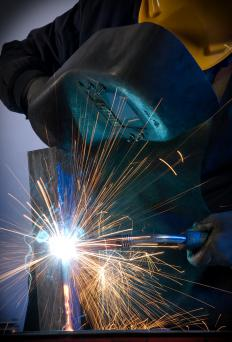 Arc welding may be performed during industrial maintenance.
