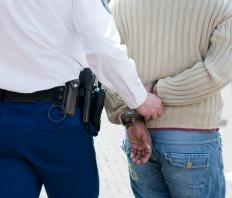 Making an arrest is one way for law enforcement agencies to clear a crime.