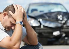 A lender might freeze the assets of someone who wrecks a car and does not have adequate insurance coverage to pay off the loan.