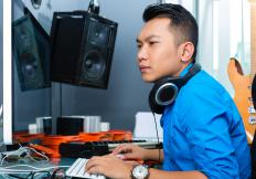 Online music students can learn the business through Internet-based courses.