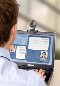 Video chat windows allow users to see each other.