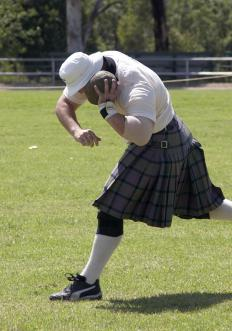 Kilts are usually a one-size-fits-all garment.