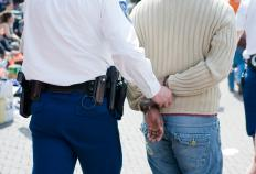 Resisting arrest is when a person interferes with the process of a legal arrest.