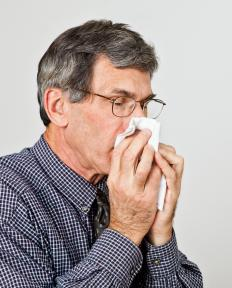 Decongestants and allergy medication can relieve sinus congestion.