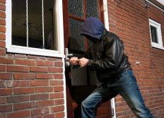 Placing a sidelight too close to a door can make it easier for a burglar to break into a house.