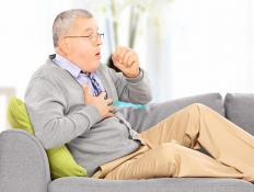 A chronic dry cough is often caused by lung disease or chronic inflammation.