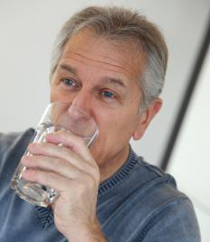 Fluoride is sometimes added to water supplies.