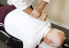 A chiropractor may use the FLACC scale to help determine the pain level of a client.