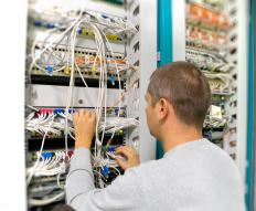 The term information technology (IT) infrastructure encompasses computer hardware, wiring, servers, back-ups and other items required to operate and support a computer network.