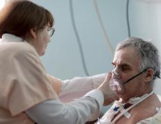 SIMV is most often used in patients who are somewhat awake and able to do some breathing on their own.