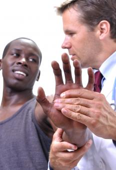 Hand injuries are common among those who play sports.
