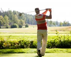 A driving range is a specially designed area where golfers can practice and improve upon their skills.