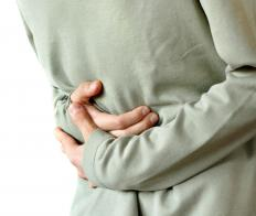 An upset stomach is one symptom of hydrocodone withdrawal.