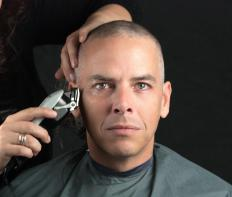 Many haircuts can be worn in the military, but keeping hair short is key.