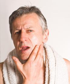 Body emulsion may be used after shaving.