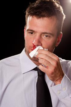 High blood pressure can cause nosebleeds and headaches.