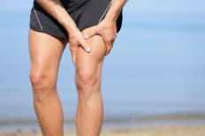 Inadequate stretching before running can lead to quad strain.