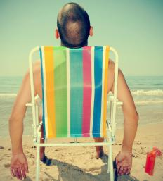 Almost any beach chair will promote a state of complete laziness when used.