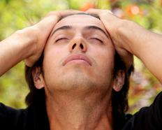 Vision problems may warn migraine sufferers that a severe headache is imminent.