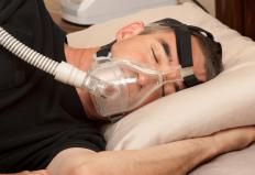 Some sleep apnea patients are treated with CPAP devices, which help keep the airways open.