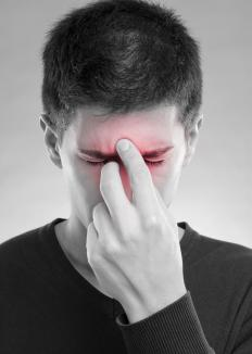 Sinusitis may occur as a result of enlarged adenoids.