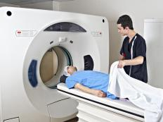 Patients who receive a low-dose CT scan will receive a reduced amount of exposure to radiation.