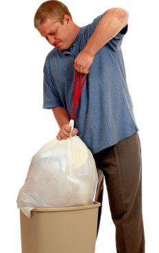 """To take out,"" as in, ""Take out the trash"" is an example of a separable verb in English."