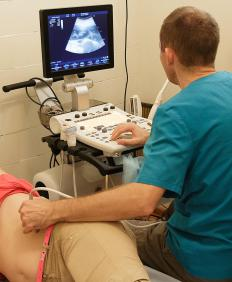 An ultrasound may be used to investigate gallstones.