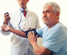 Hypertension may cause ischemia.