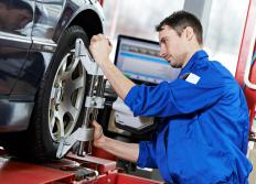 How often you have your car's tires rotated depends on how often you drive and the types of tires you use.
