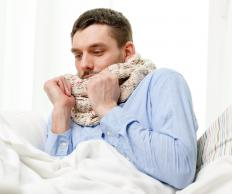 Enlarged adenoids may result in a bad cold.