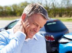 Vertebral artery dissection can result from injury, such as whiplash.