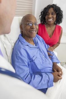 Some nurse case managers specialize in geriatrics, working with elderly patients and their caregivers.