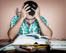 Stress can often motivate a person to try harder at work or in their studies.
