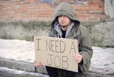 Jobless recovery is a recent term that describes economic recovery without job creation.