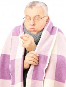 Coughing may be a side effect of vasodilators.