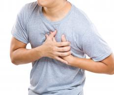Symptoms of myocardial fibrosis may include chest pain.
