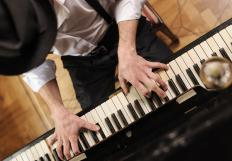 Piano players may be considered percussionists.