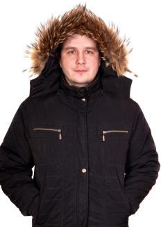A parka generally has a hood that's lined with natural or synthetic fur.
