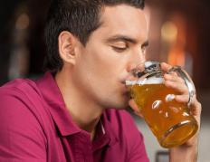 People dealing with chronic stress might start drinking in excess.
