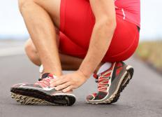 Excessive use of leg muscles when running may result in foot weakness.